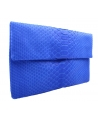 Classic clutch bag with flap